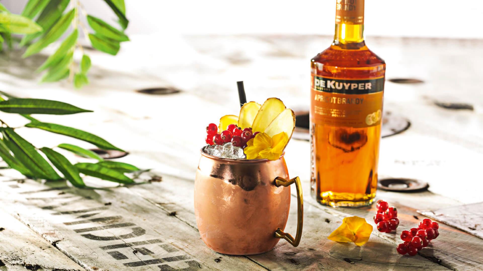 Cocktails in de studio