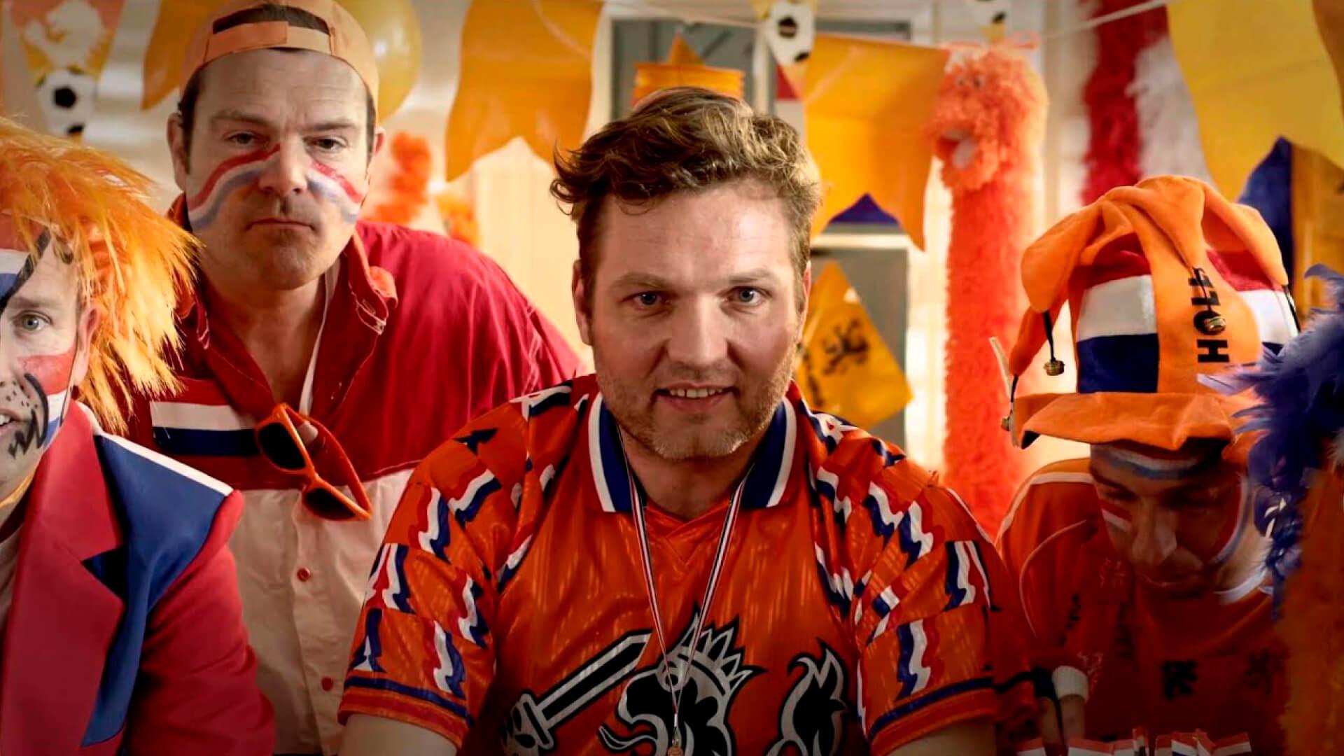 Televisiecommercial vol oranje energie