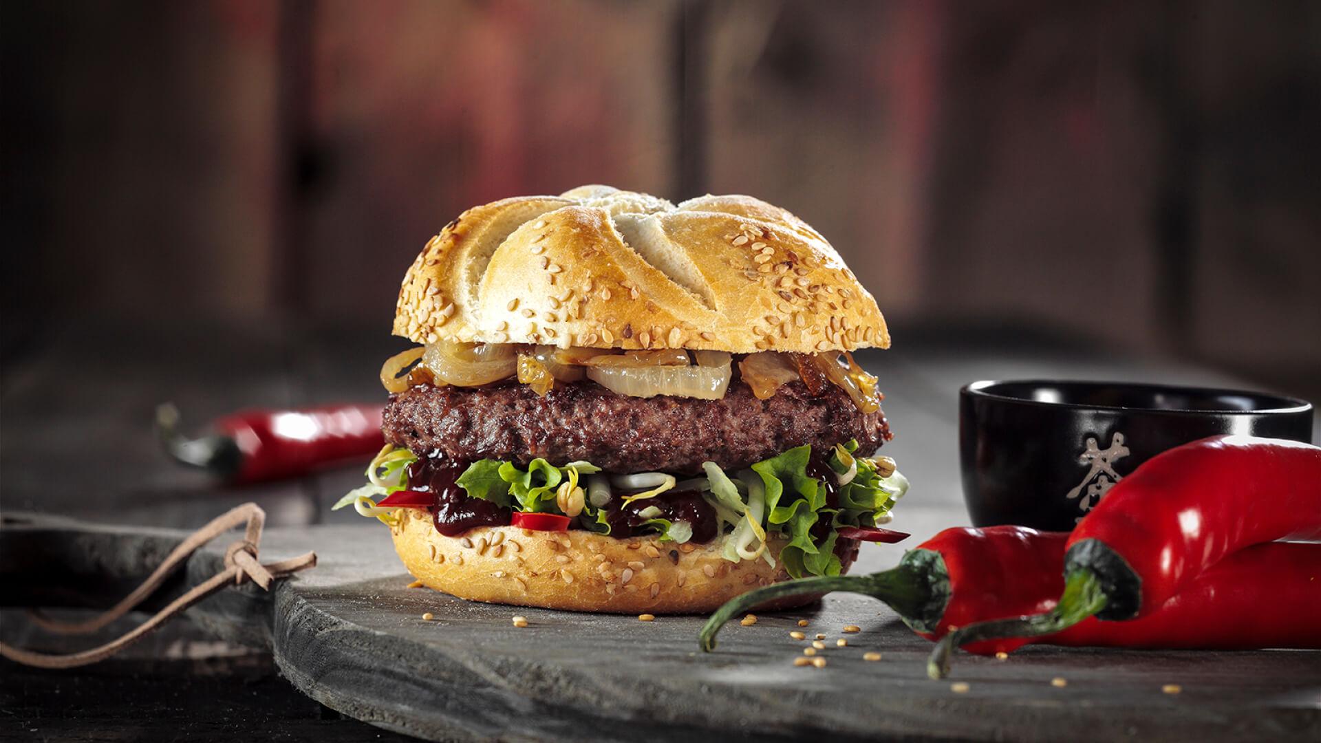 Stoere hamburgers op de (bak)plaat