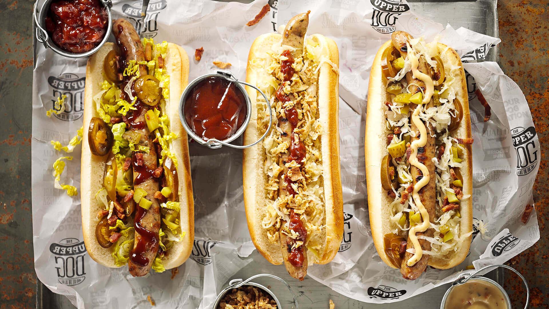 Een premium kwaliteit hotdogconcept