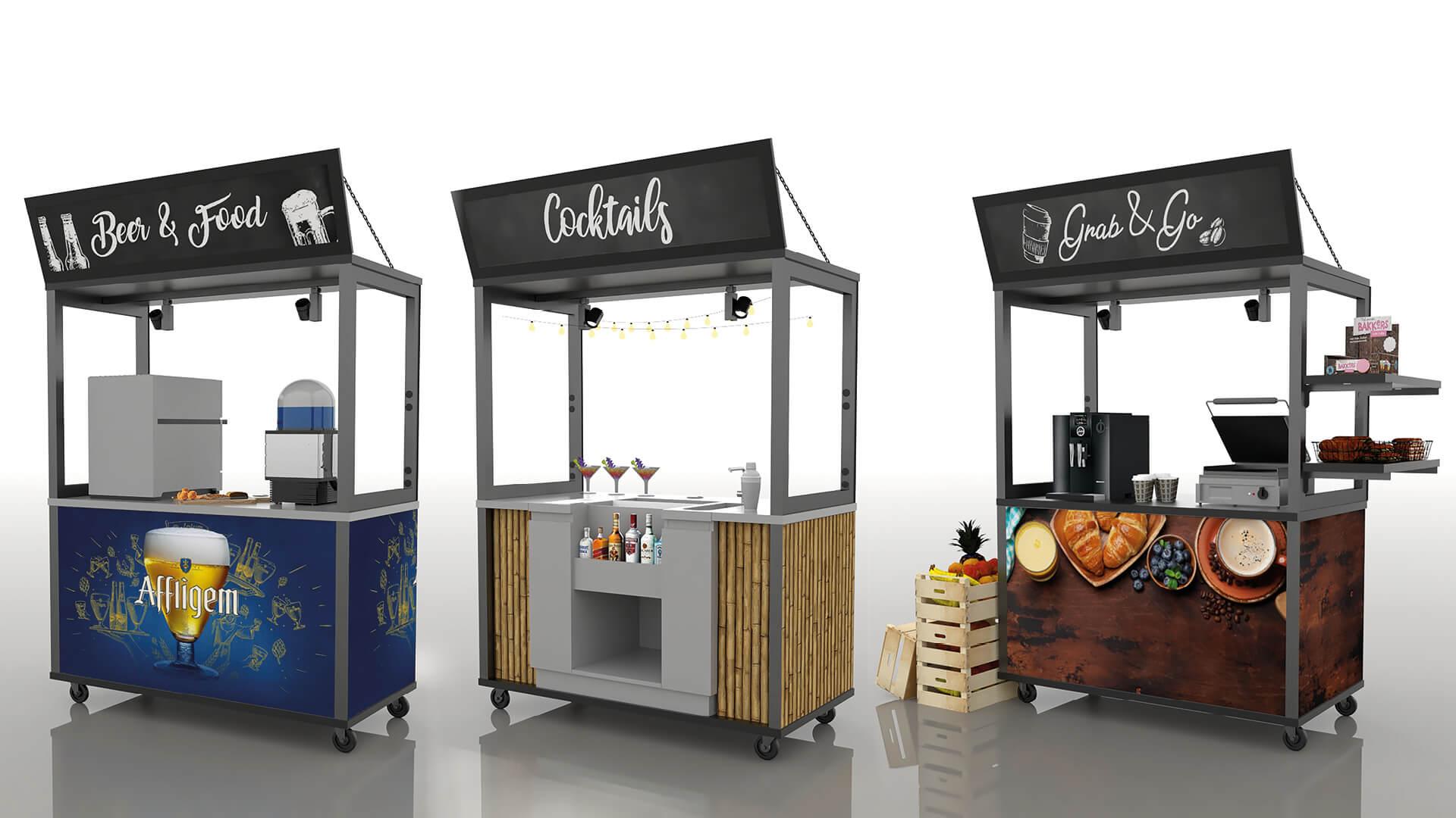 Kleinste keuken concept
